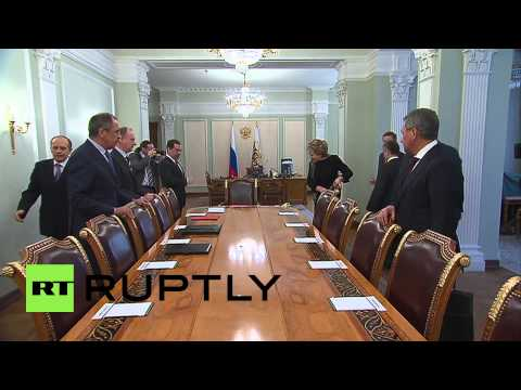 Russia: Putin convenes Security Council meeting to discuss Ukraine ceasefire deal