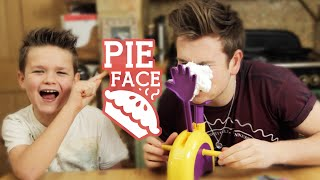 BROTHERS PLAY PIE FACE
