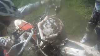Dirt Bike River Crossing Gone Wrong [Deep Water Fail] Beta 3...