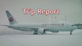 Trip Report - Air Canada 767-300ER - Business Class (YYC-YYZ)