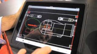 AutoCAD WS for iPad demo