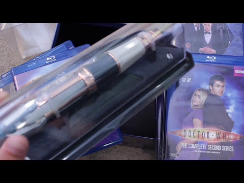 Doctor Who Blu-Ray Gift Set Series 1-7 Limited Edition Review & Unboxing