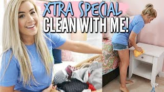 💕XTRA SPECIAL CLEAN WITH ME 2019 | COMPLETE DISASTER with CLEANING MUSIC  | Love Meg