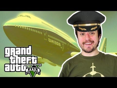 GTA V Sandbox: Roubando o Maior Avião