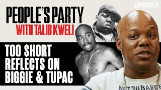 Too $hort Reflects On Collabing With Biggie And His Relationship With Tupac  | People's Party Clip