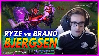 409. Bjergsen Ryze vs Brand Mid - March 4th, 2017 - Patch 7.4 Season 7