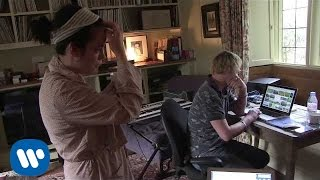Lily Allen - Recording Session with Kid Harpoon (Behind The Scenes)