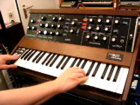 MOOG MINIMOOG - uncommon sounds | HQ DEMO