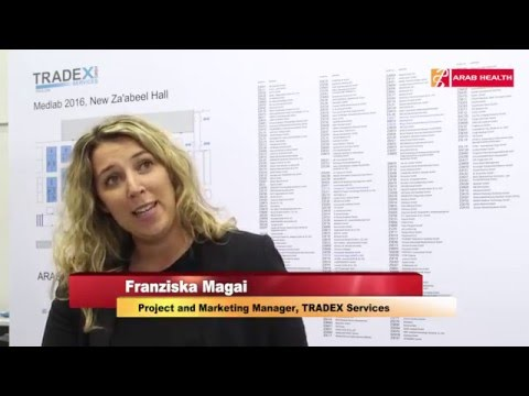 Arab Health TV 2016 - Germany Pavilion