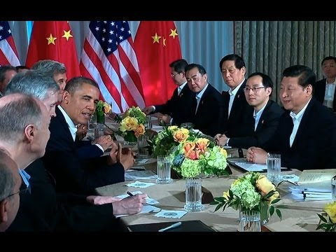 President Obama and President Xi Jinping of China Make a Statement