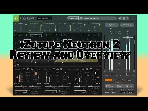 Plugin Review Ep.11 iZotope Neutron 2 mix better and faster
