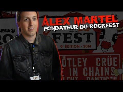 Alex Martel Rockfest Interview Avec Alex Martel