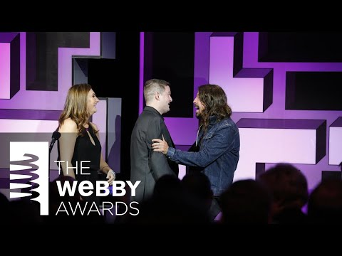 Dave Grohl Presents The ALS Ice Bucket Challenge at The 19th Annual Webby Awards