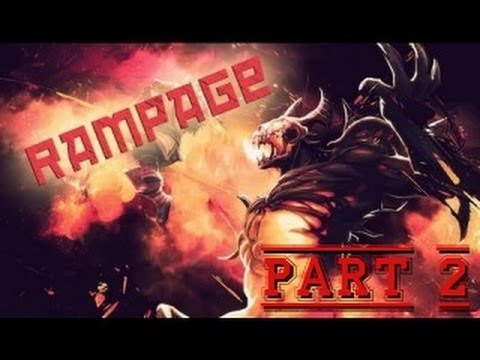 Rampage dota 2 by sf (by tht) my first rampage