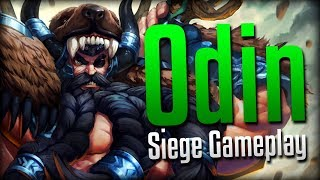 Smite: The Ring Combo!- Odin Siege Gameplay