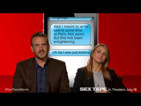 Sex Tape: Cameron Diaz & Jason Segel Read Top 5 Autocorrect Fails video