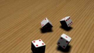 3d Dice Roll Animation