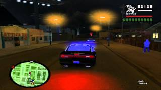 [HD]GTA:SA SAPD:FR v2.5 High Way Chase!