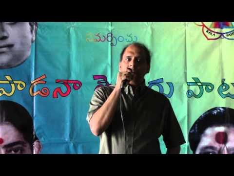 Nageshwara Prasad Sings Neelakandharaa Deva from Bhookailas...