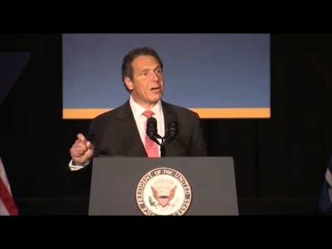Governor Cuomo and Vice President Biden Make Infrastructure Announcement in NYC