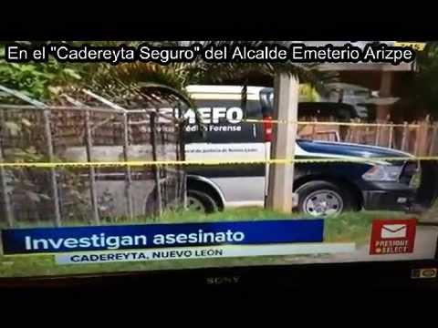 """OTRO ASESINATO EN EL """"CADEREYTA SEGURO"""""""