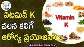 Health Benefits Of Vitamin K | Health Tips In Telugu | Human Sutra