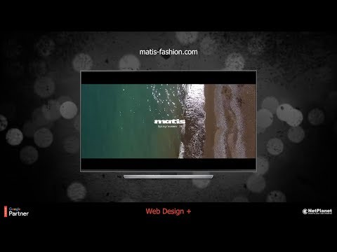 Matis Fashion - Web Design +