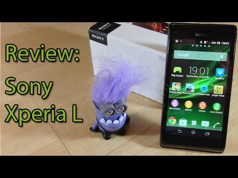Prova Em Vídeo: Sony Xperia L | Tudocelular video