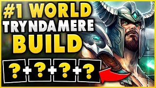 THE 100% BEST TRYNDAMERE BUILD FOR SEASON 9! (RANK 1 TRYND WORLD 1V5 BUILD) - League of Legends