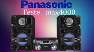 Panasonic max4000, TEST...