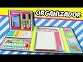 ORGANIZADOR REGRESO A CLASES - DIY Carpeta | Manualidades aPasos