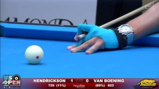 8-BALL FINAL | Shane Van Boening vs Rory Hendrickson | 2016 US Open 8-Ball Championship