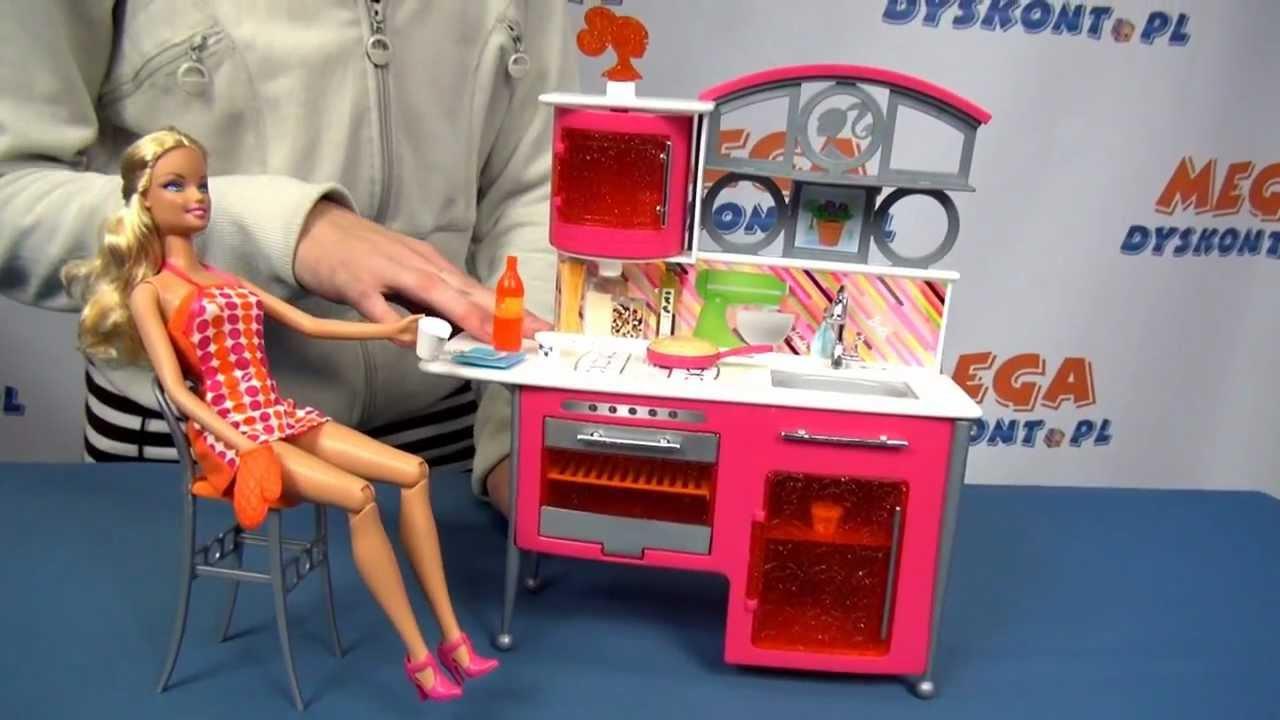 Luksusowa kuchnia dla lalki Barbie  Mattel  www   -> Kuchnia Dla Dzieci Reklama Tv