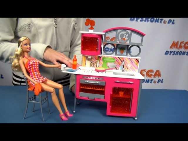 Luksusowa kuchnia dla lalki Barbie - Mattel - www.MegaDyskont.pl - sklep z zabawkami
