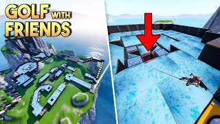 FORTNITE GOLF WITH FRIENDS MINIGAME! - Fortnite Creative (Nederlands)