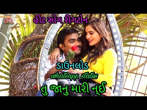 Ringtone and whasapp status તુ જાનુ મારી ન્ઈ  Gujarati song