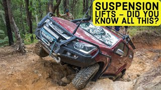 4WD SUSPENSION IN DETAIL – what your 2 inch lift is missing! Graham Cahill reveals expert secrets
