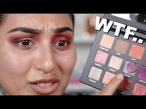 HUDA BEAUTY DESERT DUSK FIRST IMPRESSION & REVIEW | BEAUTYYBIRD