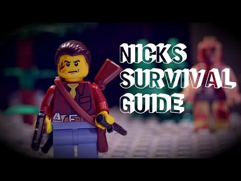 Lego Stop Motion - Nick's zombie survival guide #2