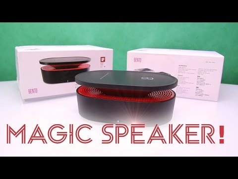 Wireless induction Speaker for Smartphones ! Bento Box by Oaxis Review [HD]