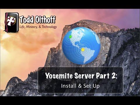 OS X Yosemite Server Part 2: Install Set Up