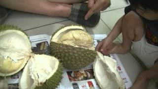 First Time Durian Eater