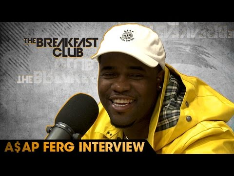 A$AP Ferg Interview at The Breakfast Club Power 105.1 (04/28/2016)