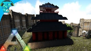 2 Men 1 Base Raid the Trap Filled Japanese Pagoda Base! E35 ARK Survival Evolved