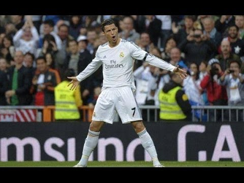 Real Madrid 4-0 Osasuna Segundo Gol Cristiano Ronaldo (26/04/14) HD