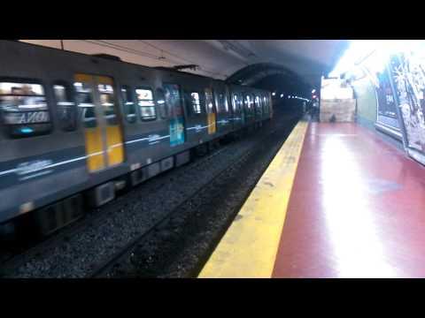 Subte Línea D - Alstom Metrópolis partiendo de Scalabrini Ortiz