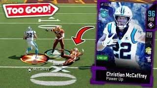 CHRISTIAN MCCAFFREY TAKING ALL THE ANKLES! MADDEN 20 ULTIMATE TEAM