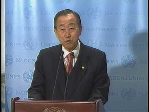 Ban inaugurates temporary home for General Assembly, UN staff