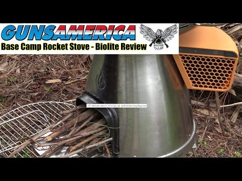 Base Camp Rocket Stove - Biolite Thermoelectric Stove Review -  Prepping 101