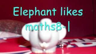 Elephant Likes Maths8-|